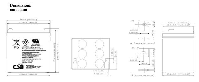 HR1221W dimensiones